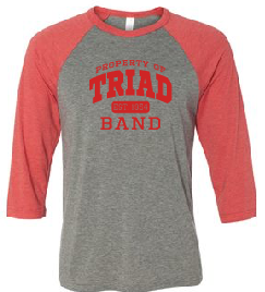 Baseball Sleeve Tee - Triad Band
