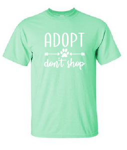 Adopt Don't Shop - Short Sleeve Tee