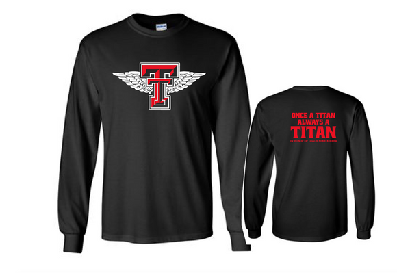Titans Fundraiser - Cotton Long Sleeve