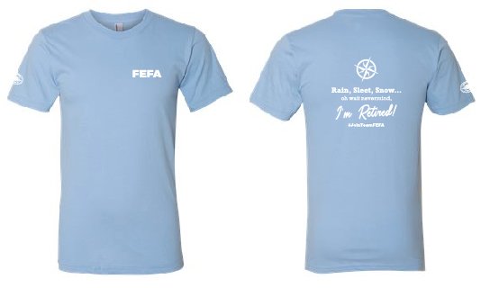 FEFA - Retirement Cotton Tee [color options]