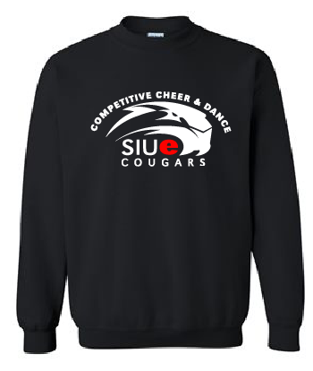 SIUE Cheer - Crewneck Sweater