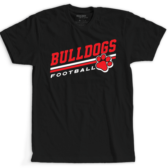 Bulldogs Football Stripes