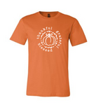Thankful, Grateful, Blessed: Pumpkin - Bella Tee [color options]