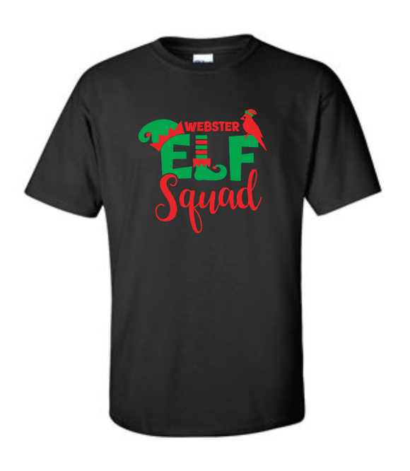 Webster Elf Squad - Cotton T-Shirt
