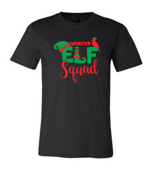 Webster Elf Squad - Premium Cotton Tee