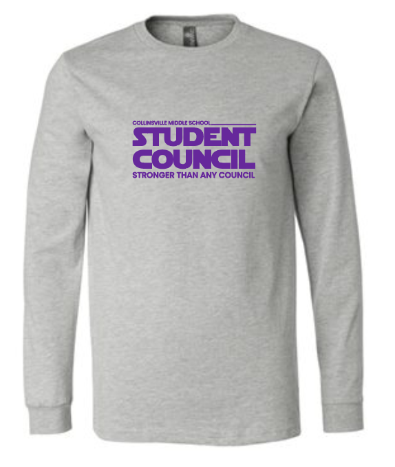 CMS Student Council - Premium Long Sleeve Tee