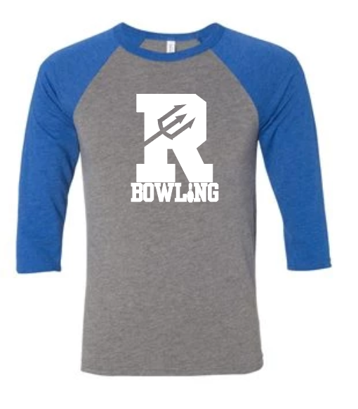 Reading Bowling - Baseball Sleeve Tee