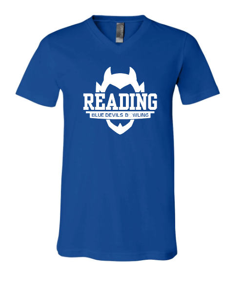 Reading Bowling - Premium V-Neck