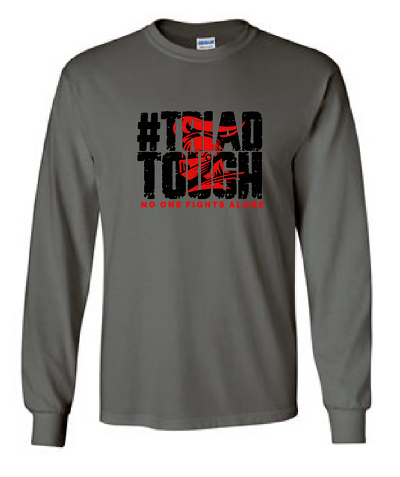 Cotton Long Sleeve - #TriadTough