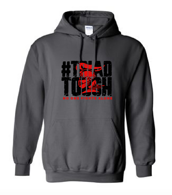 Cotton Hoodie - #TriadTough