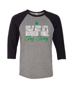 Stay Strong Liver - Baseball Sleeve