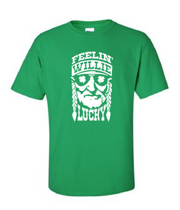 Feelin' Willie Lucky - Cotton Tee