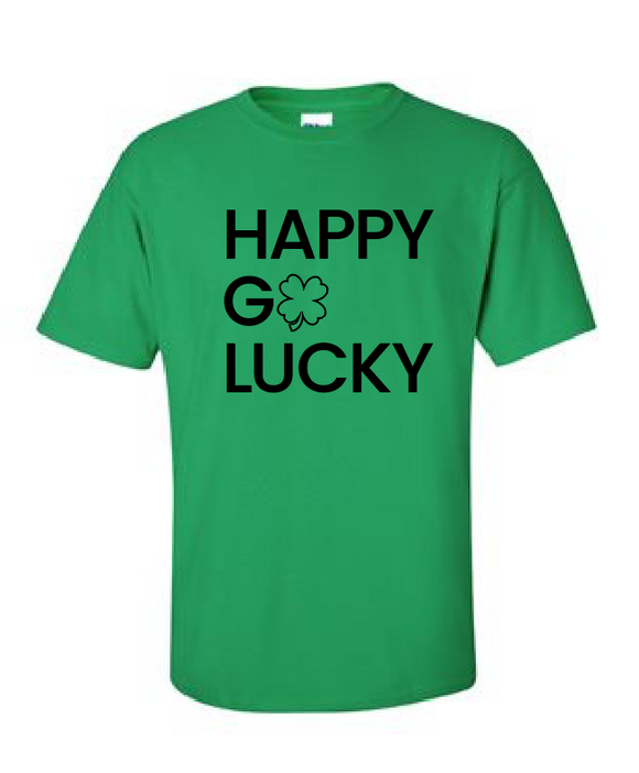 Happy Go Lucky - Cotton Tee