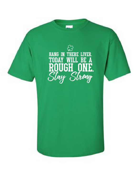 Stay Strong Liver - Cotton Tee