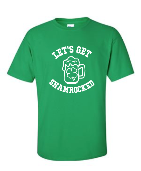Let's Get Shamrocked - Cotton Tee