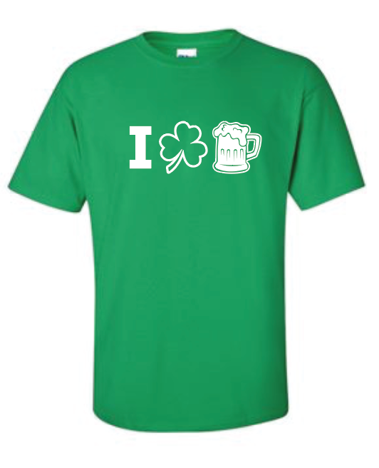 I Heart Beer - Cotton Tee