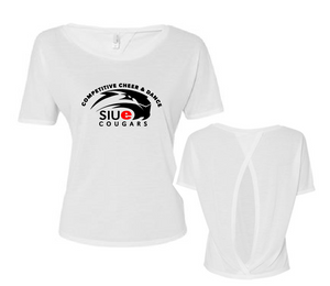 Open Back Tee - SIUE Cheer