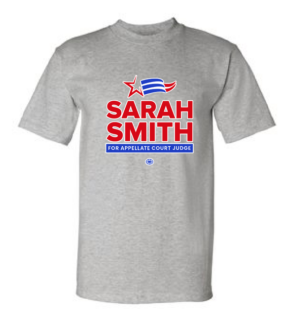 USA Made Short Sleeve Tee - Judge Sarah Smith