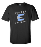 "Cotton Short Sleeve - Spikes ""E"" [color options]"