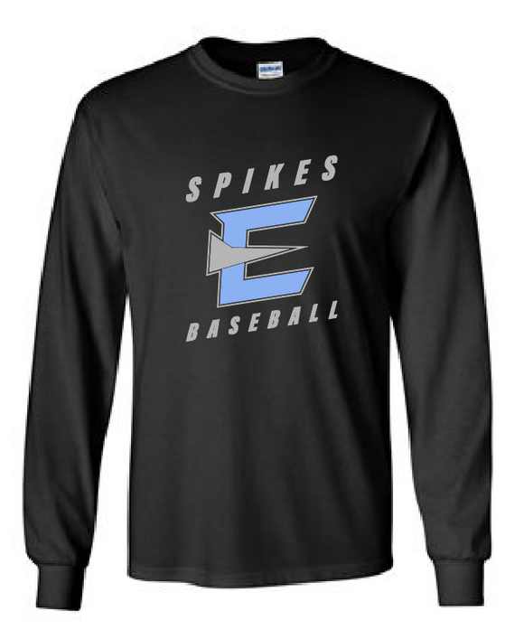 Cotton Long Sleeve - Spikes