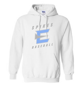 "Hoodie - Spikes ""E"" [color options]"