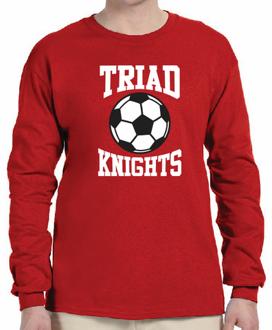 Triad Soccer Cotton Long Sleeve - No Personalization