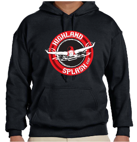 Highland Splash cotton hoodie - NO PERSONALIZATION