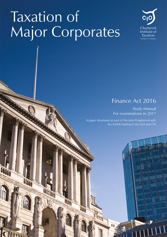 TOMCFA2016 – Taxation of Major Corporates Study Manual and Question Bank
