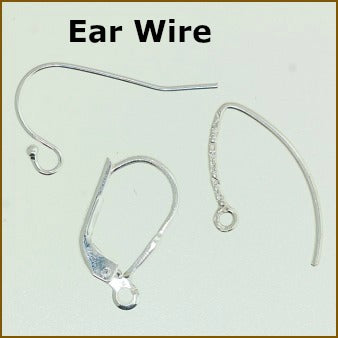 Sterling Silver Ear Wires & LeverBack