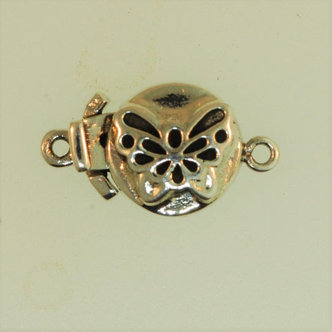 Boxs3- Sterling Silver Butterfly Box Clasp