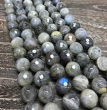 Faceted Labradorite - 2 sizes available