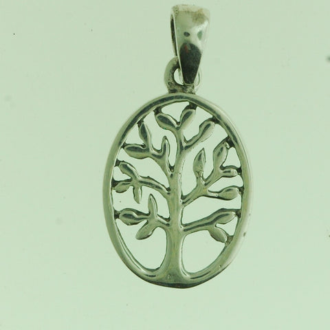 PS014- Sterling Silver Tree of Life Charm