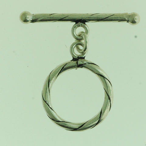 TG007 - Sterling Silver Toggle. Clasp