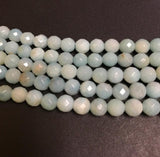 Faceted Amazonite beads