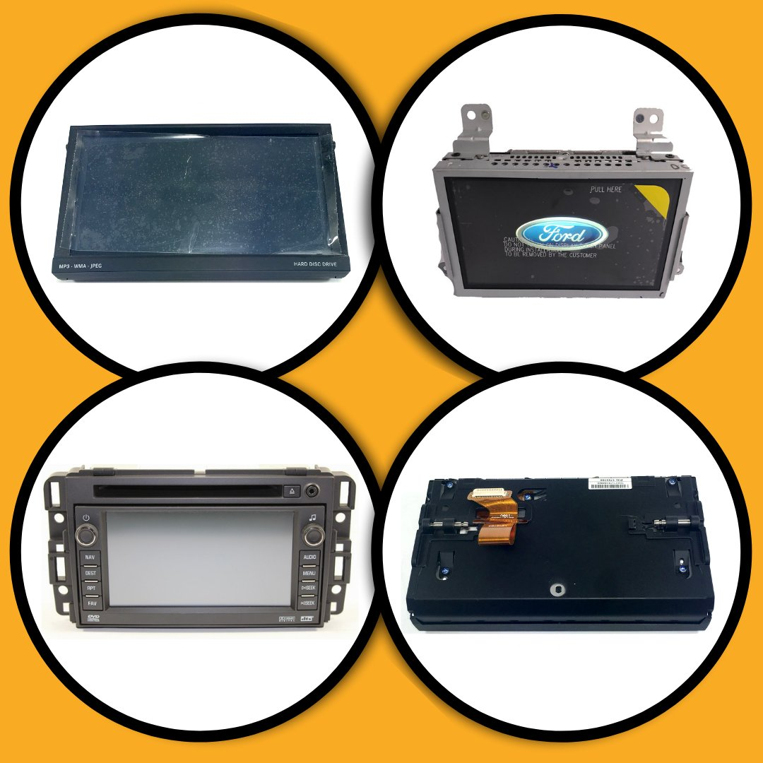 Factory Radio Touchscreen Door Assembly