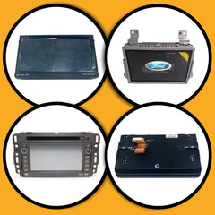 Factory Radio Complete Touchscreen Assemblies