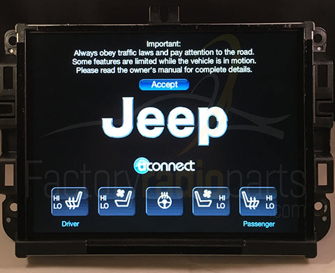 uconnect 8 4a vp3 ra3 na replacement radio jeep ram factory radio rh factoryradioparts com Jeep Uconnect Support manuel uconnect jeep renegade