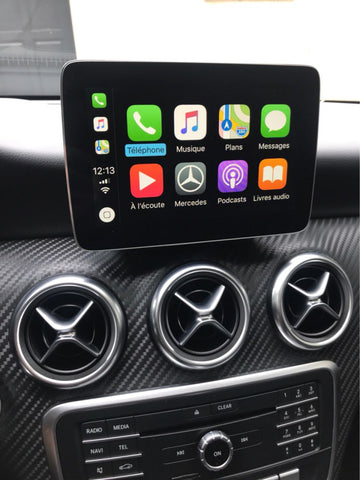 Mercedes Benz NTG5 Apple CarPlay and Android Auto Smart Phone