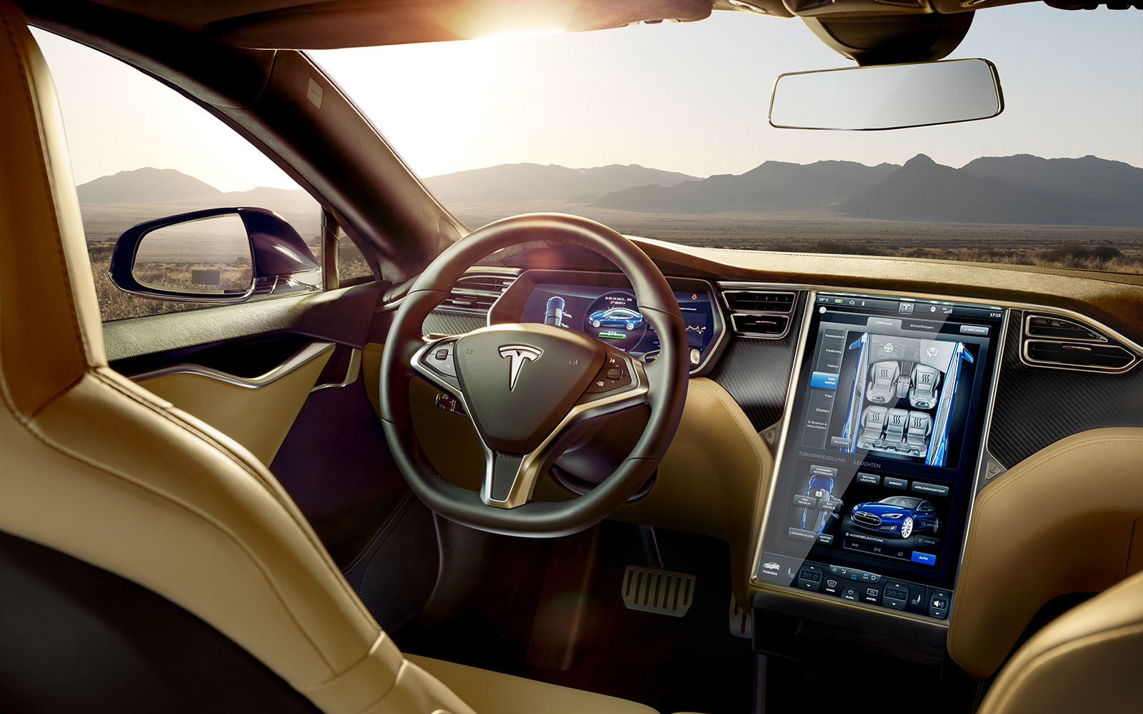 "TESLA MODEL S ""INTERIOR II"""