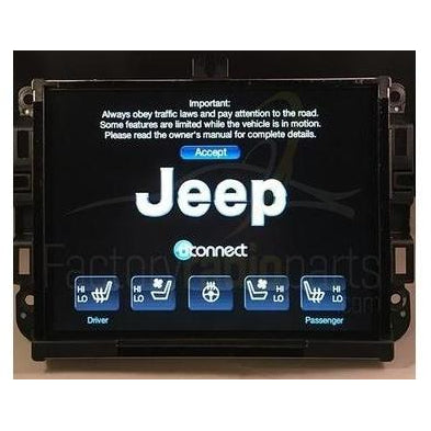 uconnect 8 4a vp3 ra3 na replacement radio jeep ram factory radio rh factoryradioparts com jeep uconnect manual 2014 manuel uconnect jeep renegade
