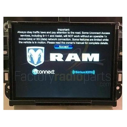 Uconnect 3C with 8.4 inch Touch Screen VP3 NA Radio Module - Factory Radio Parts