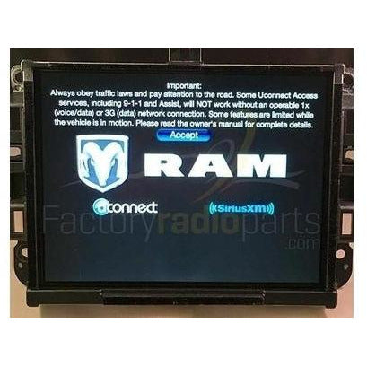 Chrysler Dodge Jeep Ram Uconnect 3C Nav with 8.4 inch Touch Screen VP4 Radio Module - Factory Radio Parts