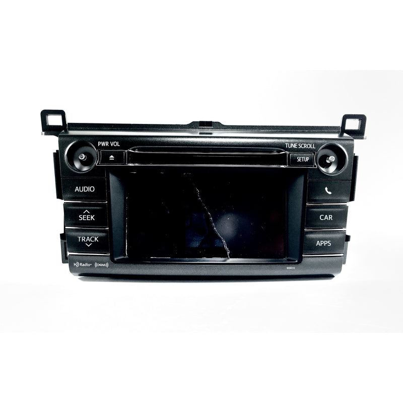 Toyota Rav4 Fujitsu Ten Entune 2.0 6.1 inch Replacement Touchscreen - Factory Radio Parts