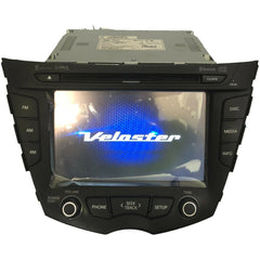 Hyundai Veloster Blue Link Touchscreen Navigation Radio 96560-2V720 - Factory Radio Parts