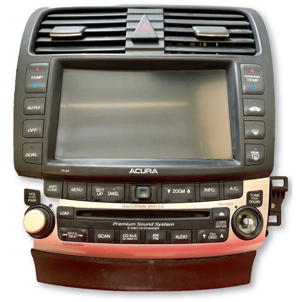 Acura TSX Six Disc Navigation Radio System [2004-2008] - Factory Radio Parts