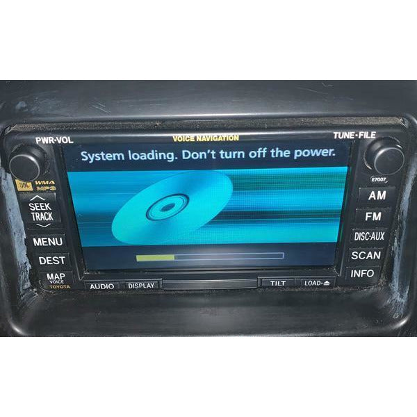 Toyota Sienna JBL Navigation Radio [2004-2010] - Factory Radio Parts