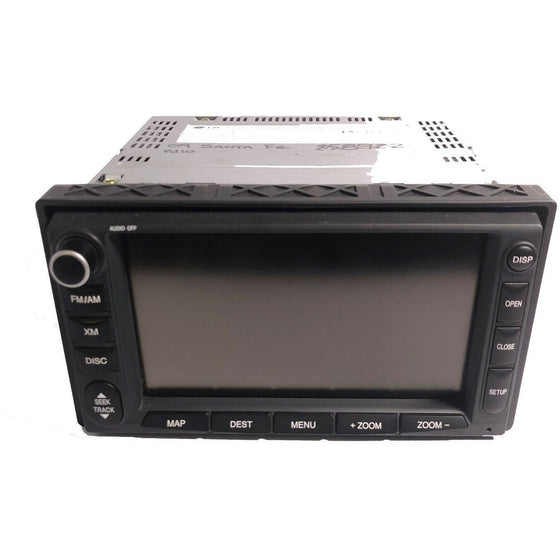 Hyundai Veracruz LG CD Touch Screen Navigation Radio [2010-2013] - Factory Radio Parts