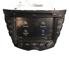Hyundai Veloster Blue Link Touch Screen Navigation Radio 96560-2V720 [2011-2017] - Factory Radio Parts