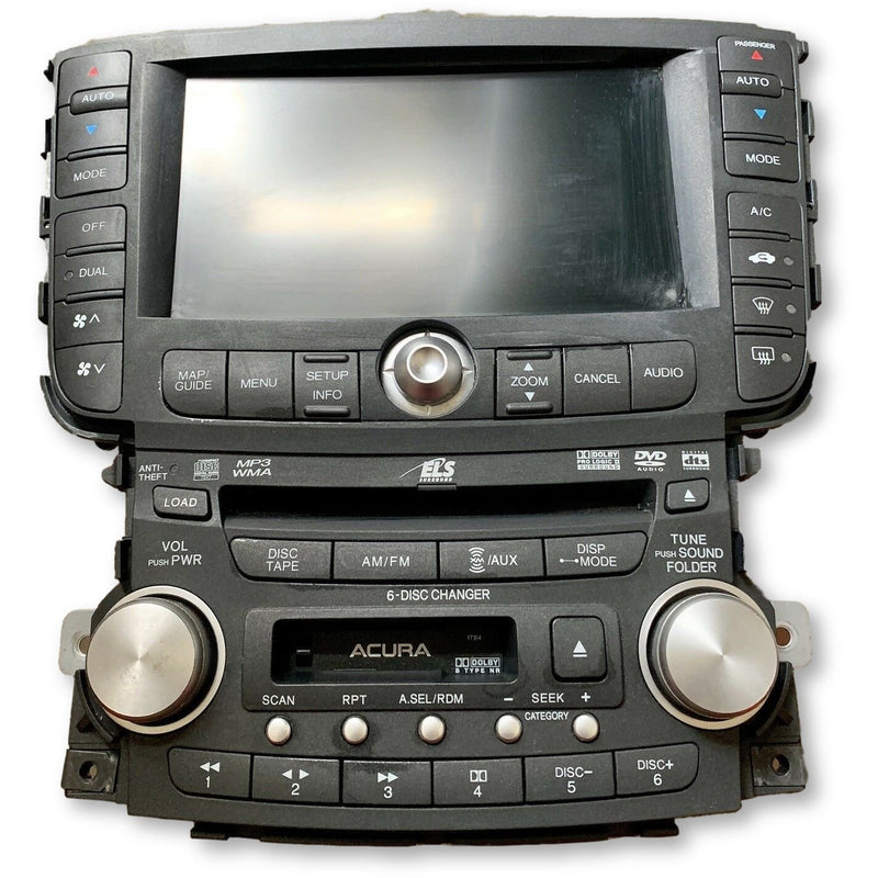 Acura TL Navigation Radio System [2004-2008] - Factory Radio Parts