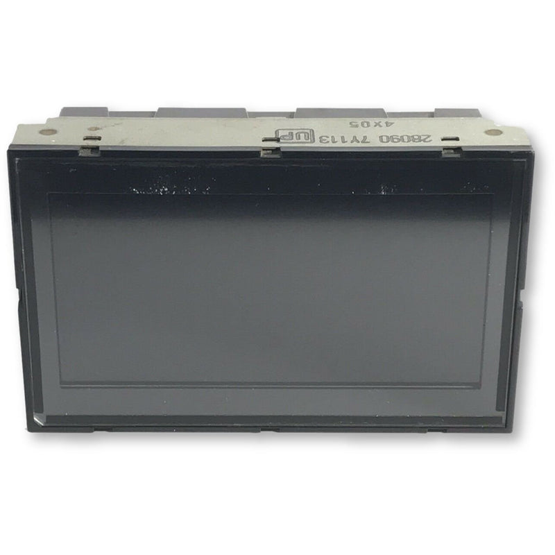 Nissan Maxima Connect Radio Display Screen 280907Y113 (2004-2006) - Factory Radio Parts